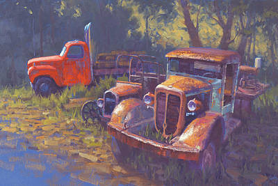 Truck Painting - Corbitt And Friends by Cody DeLong