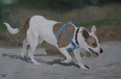 Painting - Corby by Masami Iida