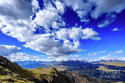 Photograph - Cordillera Blanca by Olivier Steiner