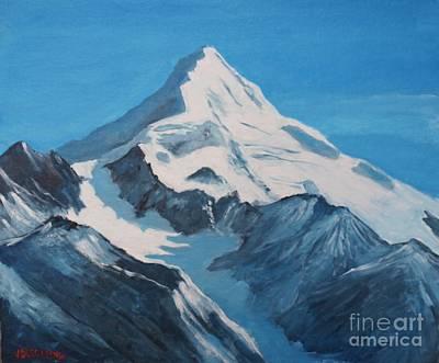 Painting - Cordillera De Los Andes by Jean Pierre Bergoeing