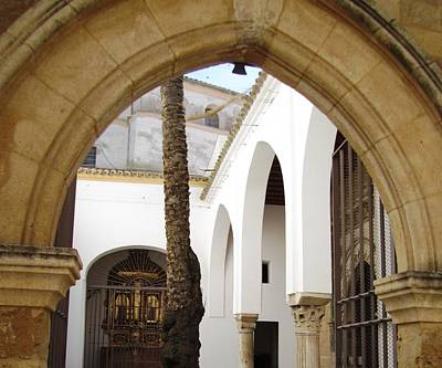 Photograph - Cordoba Ancient Arches Spain by John Shiron