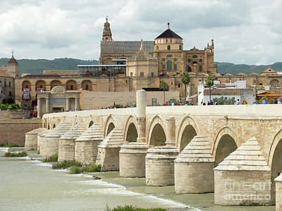 Photograph - Cordoba And The Guadalquivir River by Rod Jones