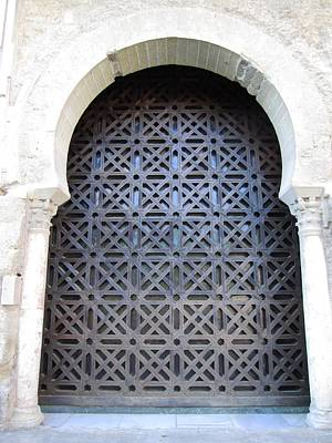 Photograph - Cordoba Architecture Ancient Mesquita Doorway II Spain by John Shiron