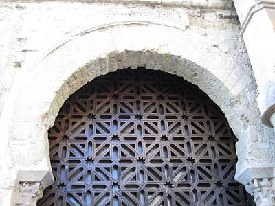 Photograph - Cordoba Architecture Ancient Mesquita Doorway Spain by John Shiron