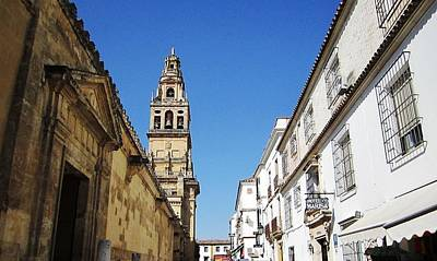 Photograph - Cordoba Bell Tower Architecture IIi Spain by John Shiron