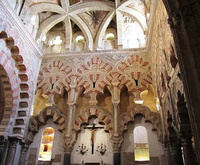 Photograph - Cordoba Cathedral Mesquita Ancient Architecture Spain by John Shiron