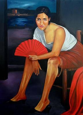 Painting - Cordoba De Noche  by Manuel Sanchez