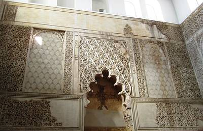 Photograph - Cordoba Jewish Quarter Synagogue Wall Hebrew Scripture Spain by John Shiron