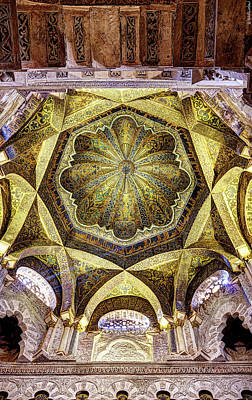 Photograph - Cordoba Mosque Dome by Weston Westmoreland