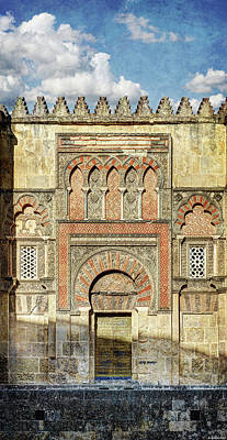Photograph - Cordoba Mosque Gate 01 by Weston Westmoreland