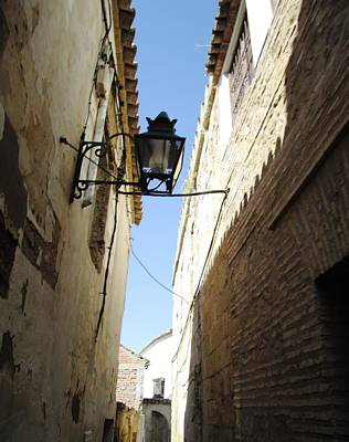 Photograph - Cordoba Old Village Street Corridor Spain by John Shiron
