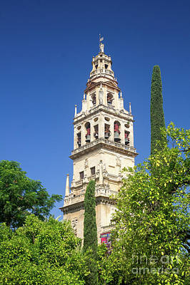 Photograph - Cordoba's Bell Tower by Rod Jones