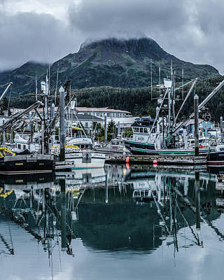 Photograph - Cordova Marina by Kevin Senter