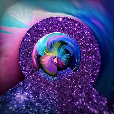 Digital Art - Core Zone by Gayle Price Thomas