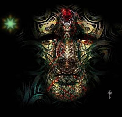 Mask Photograph - Coreoleans  Masters -  Kharthyan by Daniel Arrhakis