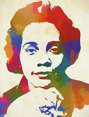 Painting - Coretta Scott King by Dan Sproul