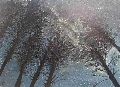 Painting Royalty Free Images - Coreys Calabogie Night  Royalty-Free Image by Kari Parkhouse
