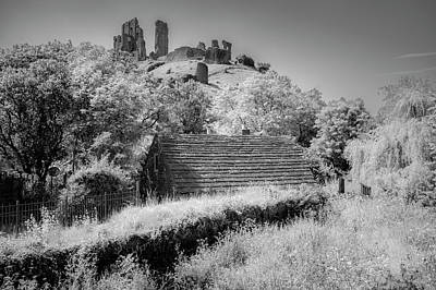 Photograph - Corfe Castle by Christopher Rees