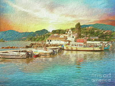 Corfu 30 My Passion Paintography Art Print