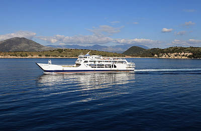 Photograph - Corfu Ferry Agia Irini by Paul Cowan