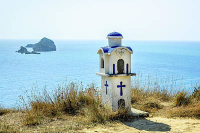 Photograph - Corfu - Roadside Shrine by Alexander Kunz