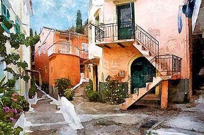 Photograph - Corfu Village by Gareth Davies