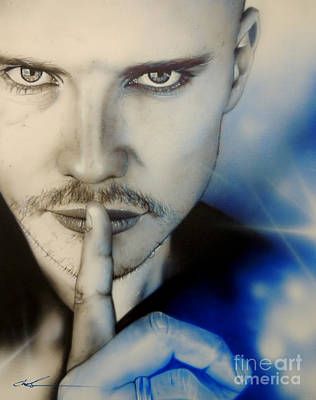 Billy Corgan - ' Corgan ' Art Print by Christian Chapman Art