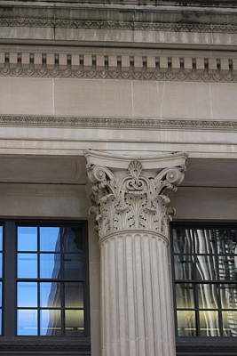 Photograph - Corinthian Column Chicago Architecture by Colleen Cornelius