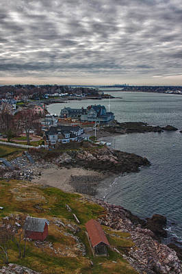Photograph - Corinthian Yacht Club In Marblehead by Jeff Folger