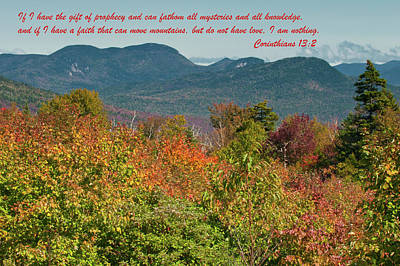 Photograph - Corinthians 13-2 by Paul Mangold