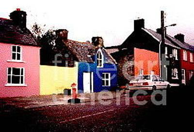 Painting - Cork .. Beara Penninsula. Ardgroom 1992 Photo by Val Byrne