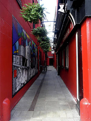 Photograph - Cork City Alleyway I by Jacqueline  DiAnne Wasson
