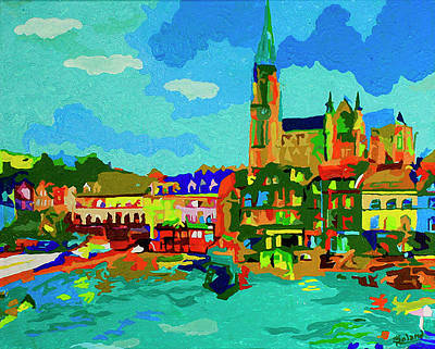 Painting - Cork In Color By Tracy Dupuis Roland by Tracy Roland