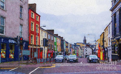 Digital Art - Cork Ireland  by Les Palenik