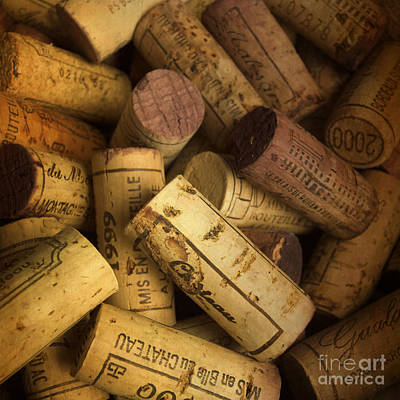 Corks Art Print by Bernard Jaubert