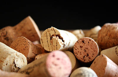 Champagne Photograph - Corks by Cathie Tyler