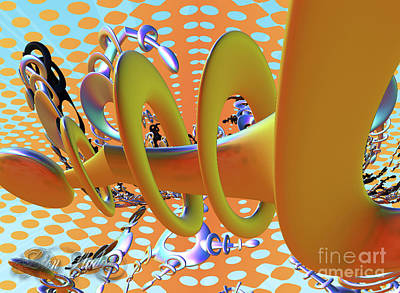 Digital Art - Corkscrew by Melissa Messick