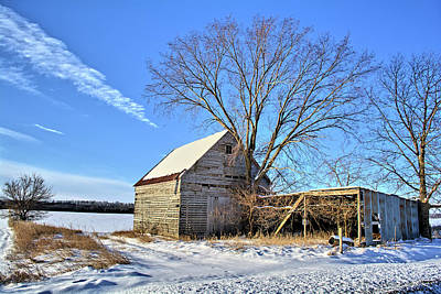 Photograph - Corn Crib And Storage by Bonfire Photography
