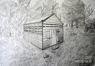 Smokehouse Print by Dale Ballenger