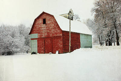 Photograph - Our Corn Crib  by Julie Hamilton