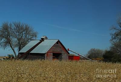 Photograph - Corn Crib by Yumi Johnson