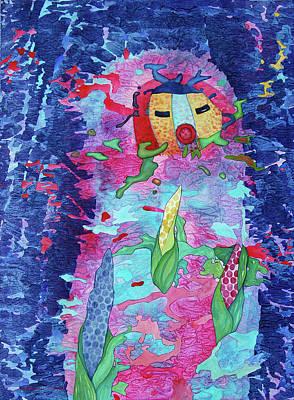 Painting - Corn Dancer by Lynda Hoffman-Snodgrass