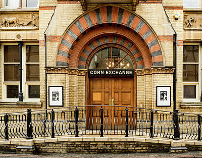 Photograph - Corn Exchange by Jean Noren