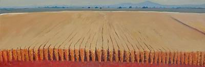 Painting - Corn Field by Gary Coleman