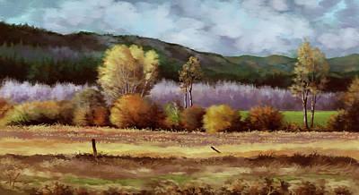Painting - Corn Field by Hans Neuhart