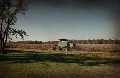 Photograph - Corn Harvest 2015 by Cynthia Lassiter