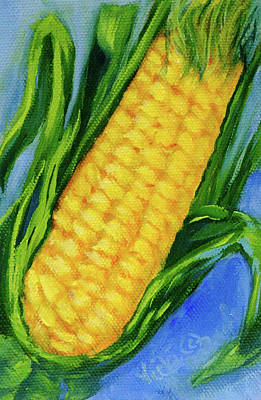 Painting - Corn On The Cob by Vicki VanDeBerghe