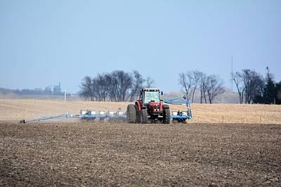 Corn Planting Art Print by Bonfire Photography