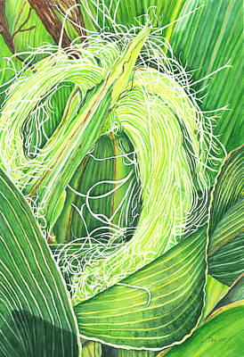 Painting - Corn Silk by Lori Taylor