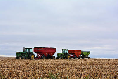 Photograph - Corn Train by Bonfire Photography